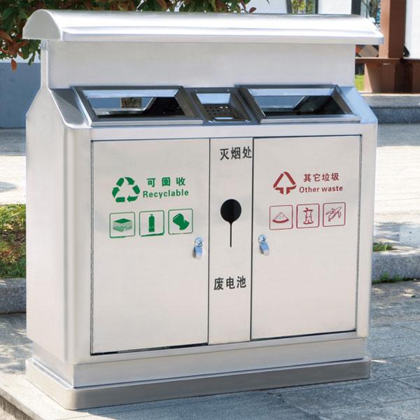 不锈钢垃圾桶LC-BXG203