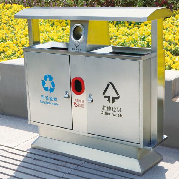 不锈钢垃圾桶LC-BXG101
