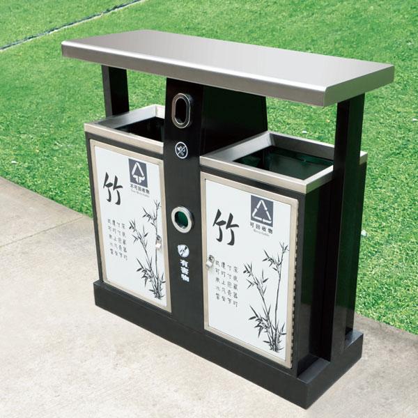 户外不锈钢垃圾桶定制款