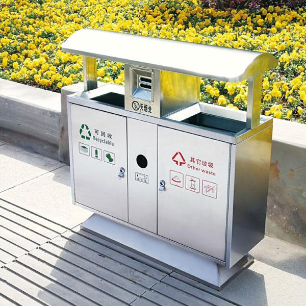 不锈钢垃圾桶LC-BXG101B