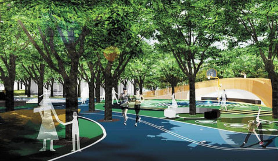城市垃圾桶分类存放,改善环境绿灿在行动?