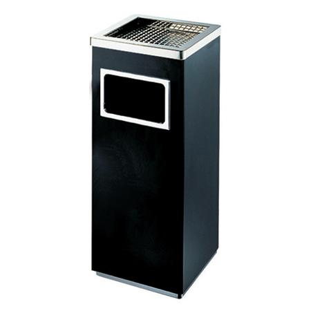 室内方筒垃圾筒(黑色豪华)LC-DT103B