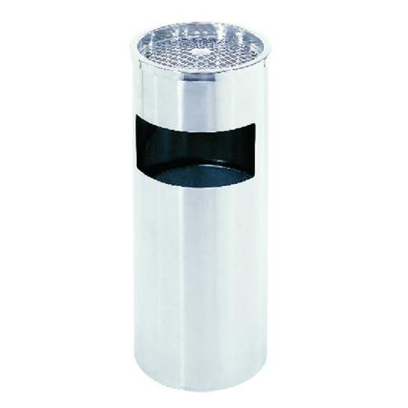 室内不锈钢单筒垃圾筒LC-DT102
