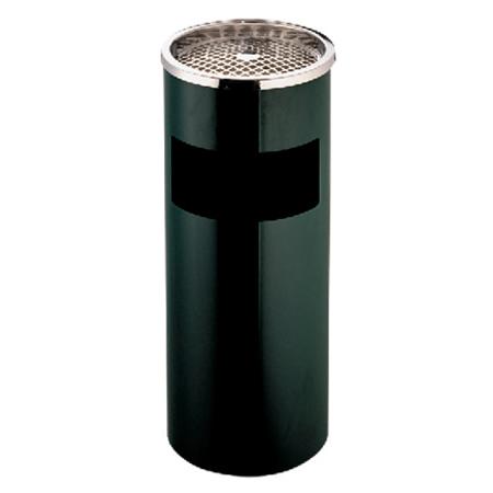室内单筒垃圾筒(黑色豪华)LC-DT102B
